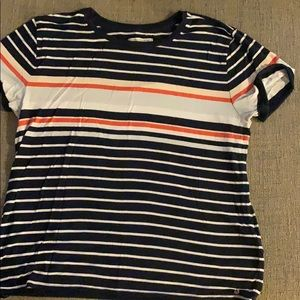 Striped Abercrombie and Fitch t-shirt